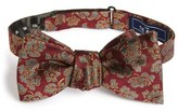 The Tie Bar Intellect Floral Silk Bow Tie