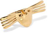 Aurelie Bidermann Melina Gold-Plated Ring