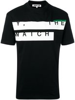 McQ by Alexander McQueen Y, The Watch print T-shirt