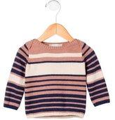 Stella McCartney Girls' Striped Rib Knit Sweater