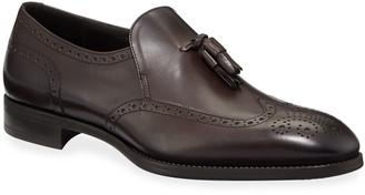 Giorgio Armani Men's Tassel Wing-Tip Loafers