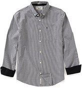Original Penguin Contrast-Cuff Gingham Shirt