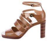 Louis Vuitton Leather Cage Sandals