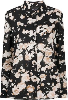 Boutique Moschino Watercolour Floral Shirt