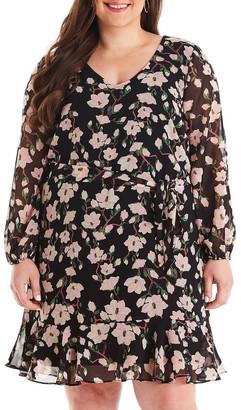 Estelle Magnolia Bloom Frill Dress
