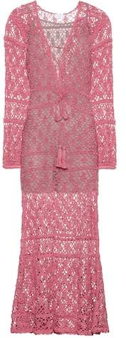 Anna Kosturova Bianca crocheted cotton dress