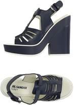 Jil Sander Navy Sandals - Item 11140350