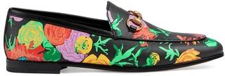 Gucci x Ken Scott Jordaan floral-print loafers