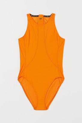 H&M Sports Swimsuit High leg