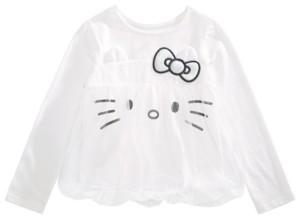 Hello Kitty Toddler Girls Mesh Bubble Top