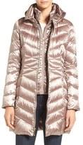 Ellen Tracy Petite Women's Hooded Down & Polyfill Coat