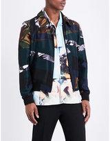 Kenzo Camo-panel Silk Jacket