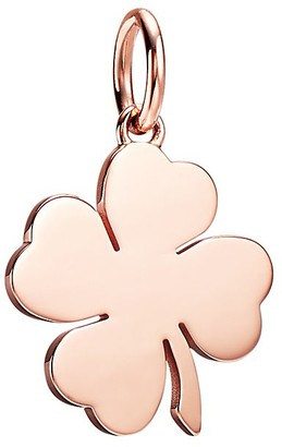 Tiffany & Co. Charms four-leaf clover charm in 18k rose gold