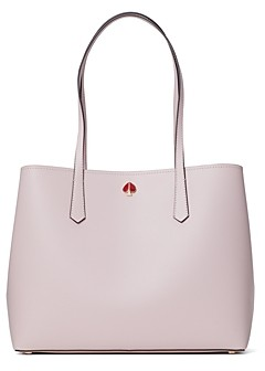 Kate Spade Molly Heart Party Large Leather Tote