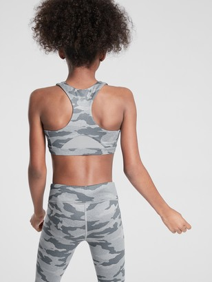Athleta Girl Printed Speed Racer Bra