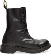 Vetements X Dr. Martens 1490 leather boots