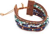 Chan Luu Multi Strand Pull Tie Bracelet