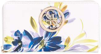 GUESS Open Road Floral-Print Cheque Organizer