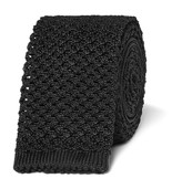 Tom Ford 6cm Knitted Silk Tie
