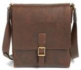 Frye Men's Logan Leather Crossbody Bag - Brown