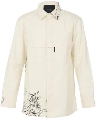 Buttoned Down Rochambeau pocket button down shirt