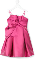 DSQUARED2 knot detail prom dress - kids - Polyester - 4 yrs