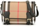 Burberry New Classic Check shoulder bag - kids - Cotton/Calf Leather - One Size