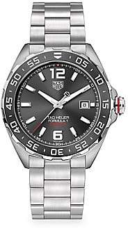 Tag Heuer Women's Formula 1 43MM Stainless Steel & Ceramic Automatic Bracelet Watch