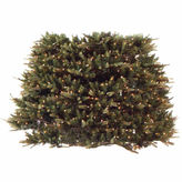 Asstd National Brand 7.5' - 9' Pre-Lit Extend-A-Tree Artificial Christmas Tree Extension Piece with Clear Lights