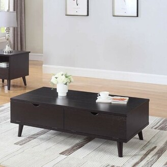 George Oliver Bueno Modern Lift Top Wooden Coffee Table with Storage George Oliver