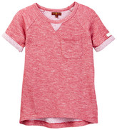 7 For All Mankind Short Sleeve Knit Top (Big Girls)