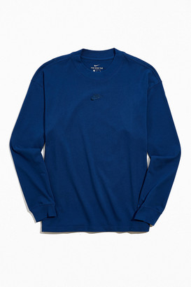 Nike NSW Essential Mock Neck Long Sleeve Tee