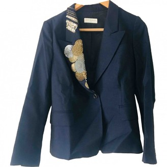 Dries Van Noten \N Navy Wool Jackets