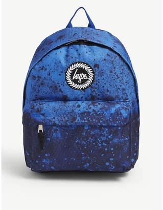 Hype Paint splat canvas backpack