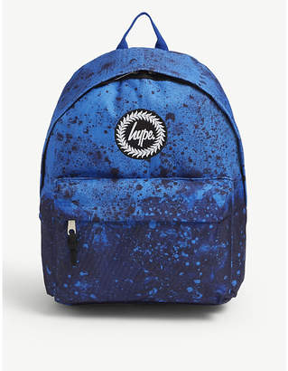 Hype Paint splat canvas backpack