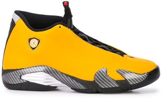 "Jordan Air 14 Yellow Ferrari"" sneakers"