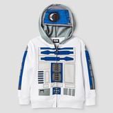 Star Wars Toddler Boy's R2D2 Costume Hoodie - White