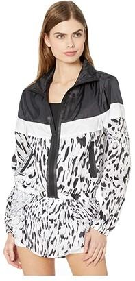 Blanc Noir Windbreaker Jacket (Delilah) Women's Clothing