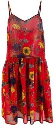 Jean Paul Gaultier Pre Owned 1991 Floral Slip Dress