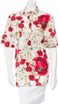 Dolce & Gabbana Floral Print Embellished Tunic w/ Tags