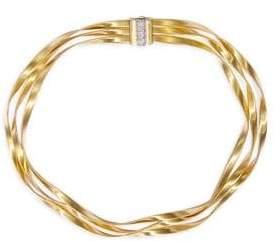 Marco Bicego Marrakech Diamond, 18K Yellow Gold& 18K White Gold Multi-Strand Necklace