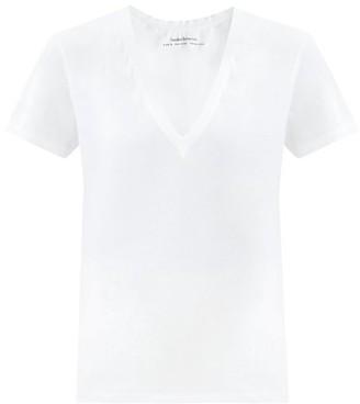 Another Tomorrow - V-neck Organic-cotton T-shirt - White