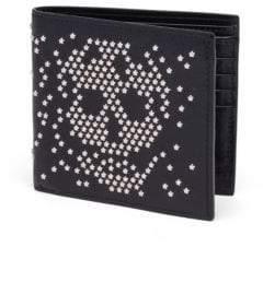 Alexander McQueen Star Sequin Billfold Wallet