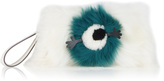 Anya Hindmarch Furry Shearling Eyes Clutch