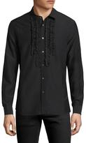 BLK DNM 73 Ruffled Sportshirt