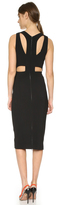 Narciso Rodriguez Harness Back Scuba Dress
