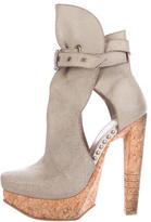 Herve Leger Platform Ankles Boots
