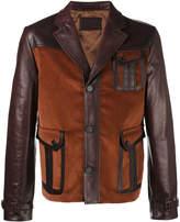 Prada Patch pocket leather jacket