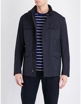 Armani Collezioni Cotton-blend Safari Jacket