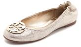 Tory Burch Reva Metallic Ballet Flats